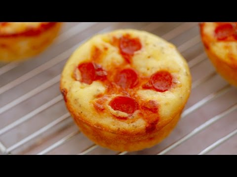 PIZZA  CUPCAKES - Gemma's Bigger Bolder Baking