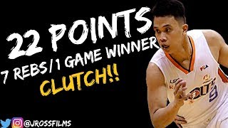 Baser Amer Full Highlights vs NLEX | 22 Points, 7 Rebs, GAME WiNNER! (10/14/2018)