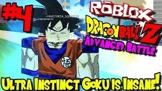 ULTRA INSTINCT GOKU IS INSANE! | Roblox: Dragon Ball Advanced Battle - Episode 4