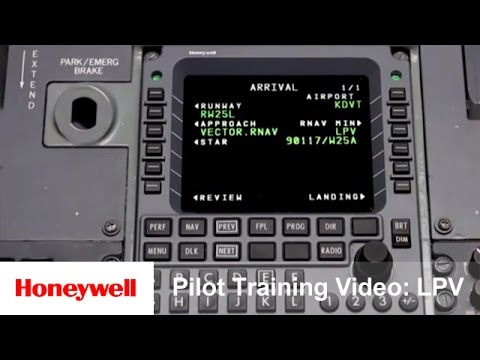 Pilot Training Video: LPV | Training | Honeywell