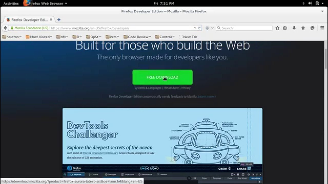 How to Install Firefox Developer Edition in Ubuntu