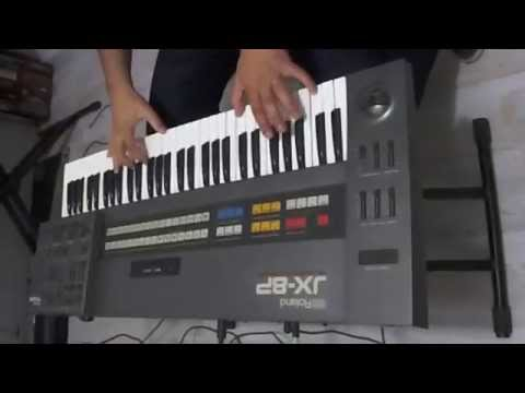 ROLAND JX-8P DEMO NA CLASSIC KEYBOARDS