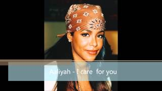 [HD] Aaliyah - I care for you