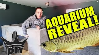FINALLY! The 2,000 gallon aquarium reveal! thumbnail