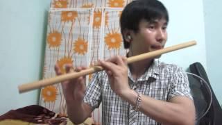 Bài ca đất Phương Nam - sáo trúc (Cao Trí Minh) . Fa trầm