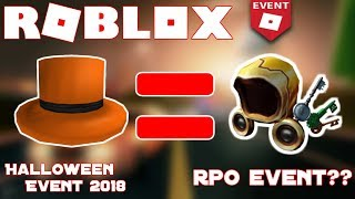 The Roblox Halloween Event... A Copy RPO Event?