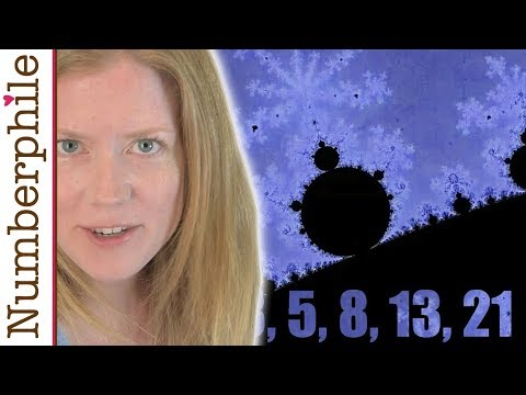 Fibonacci Numbers hidden in the Mandelbrot Set - Numberphile