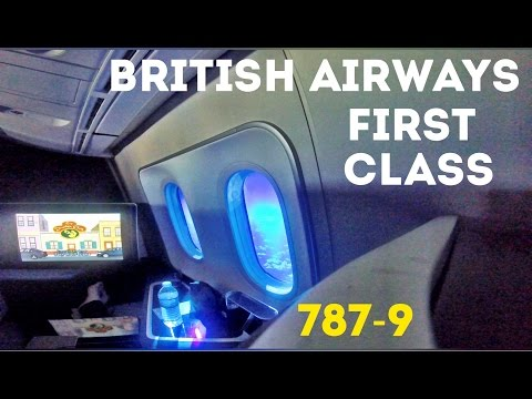 British Airways First Class Flight, 787-9 Dreamliner - London Heathrow to San Jose!