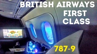 british airways first class flight 787 9 dreamliner london heathrow to san jose