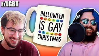 Gay Christmas 💜 | r/LGBT🌈 ft. JammiDodger