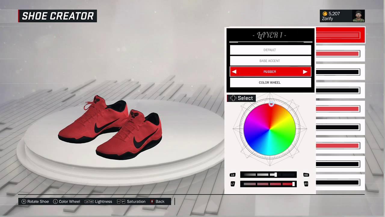 brand new 8ae30 4d729 NBA 2K17 Shoe Creator - Nike Kobe 11