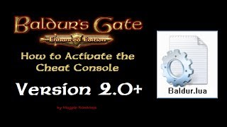 How to Activate the Cheat Console in Baldur