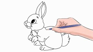 How to Draw a Rabbit Easy Step by Step