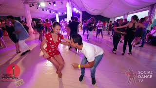 Walid & Anastasia - Salsa social dancing at the 2018 The Third Front Salsa Festival