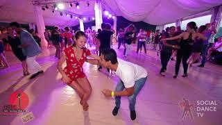 Walid & Anastasia - Salsa social dancing at the 2018 The Third Front Salsa Festival