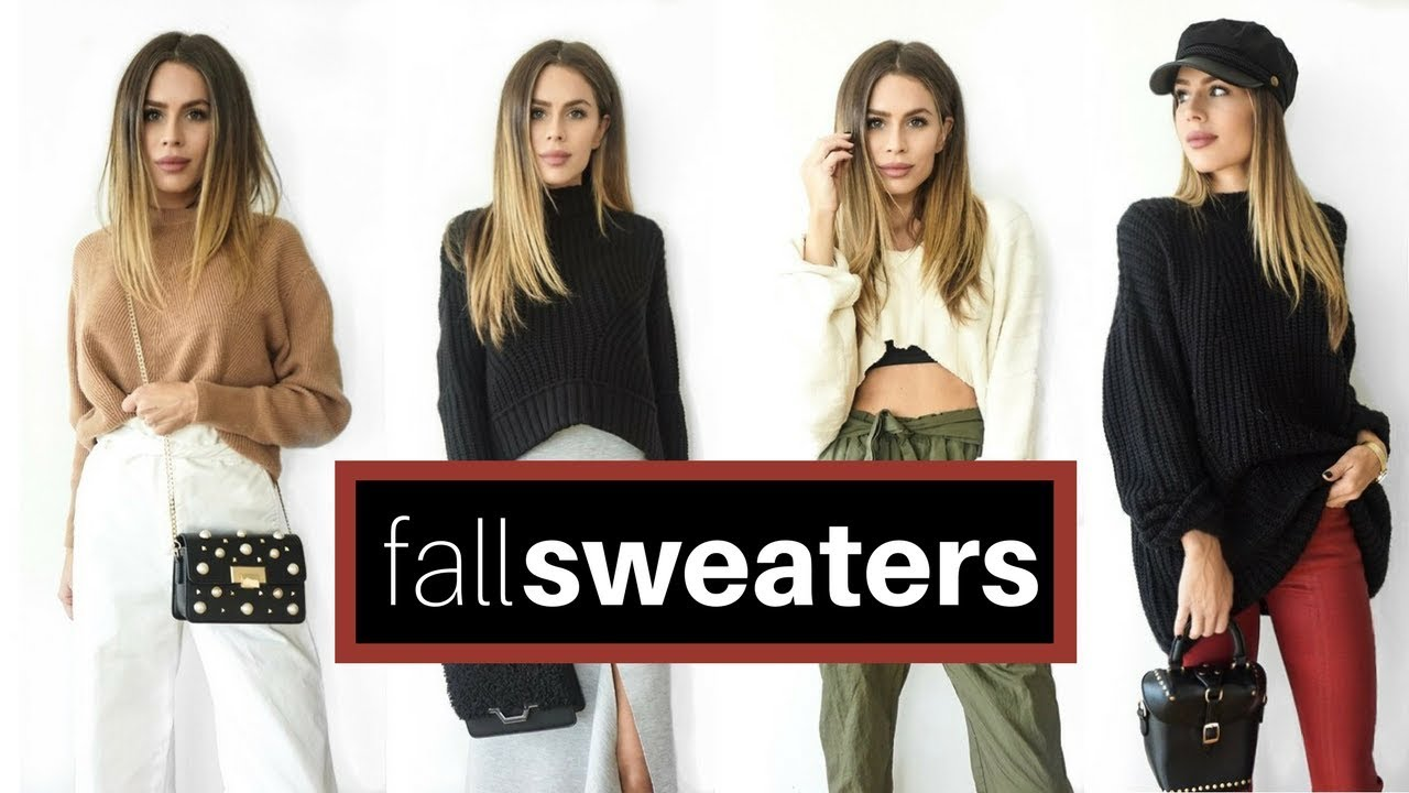 How To Style Sweaters For Fall | Office and Casual