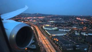 Air Canada 787 Dreamliner Descent and Landing in Montreal