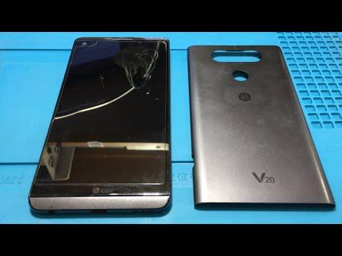 LG V20 H990 не включается. Замена памяти.