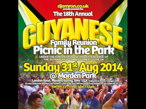 Guyanese Picnic In The Park Morden 2014 Part 1
