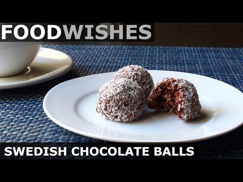 Swedish Chocolate Balls (Chokladbollar) Food Wishes