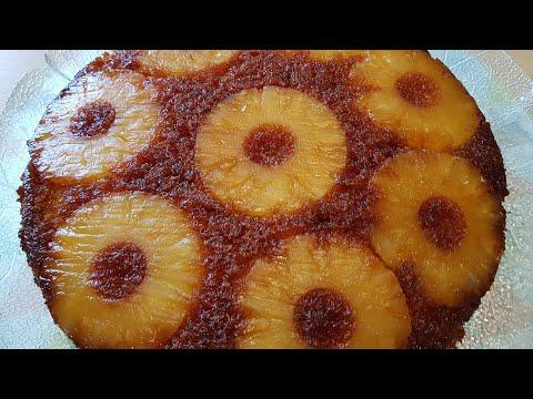gateau-d'ananas-super-moelleux-الذ-كاكة-اناناس-بطريقة-سهلة-ومبسوطة