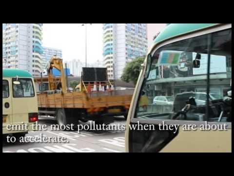Air pollution vs cycling in Hong Kong