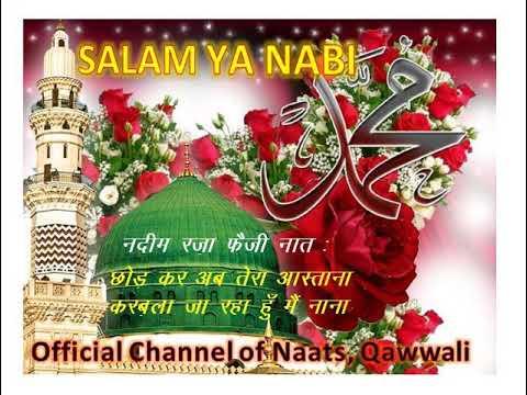 Nadim Raza Faizi New Naat -Karbala Ja Raha Hoon Main Nana