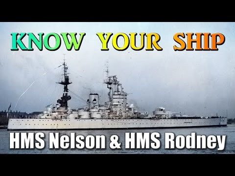 World of Warships - Know Your Ship #46 - HMS Nelson and HMS Rodney