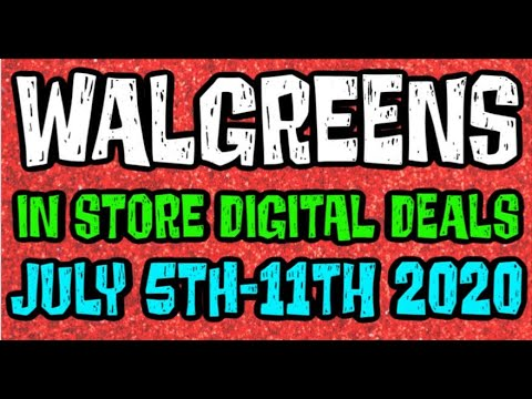 Walgreens Digital Coupons In Store Breakdowns July 5th-11th 2020
