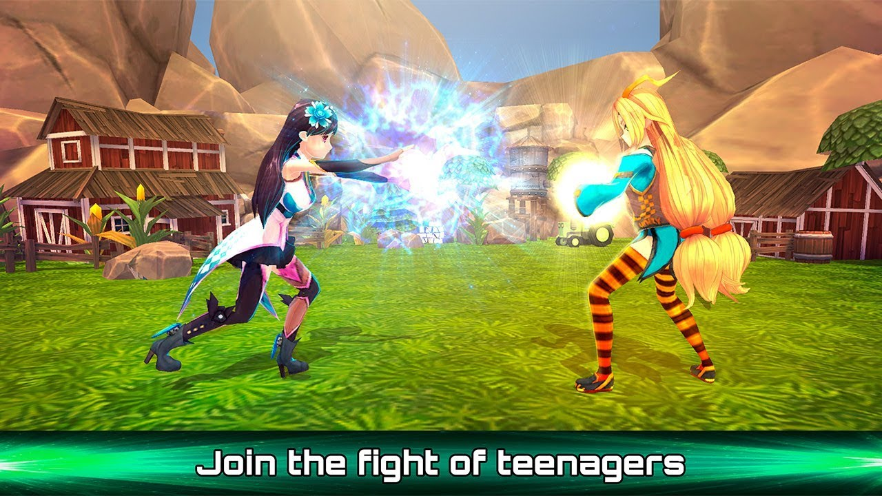 Boxing MMA Anime Fight Gameplay Video Android IOS
