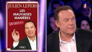 Julien Lepers - On n'est pas couché 20 décembre 2014 #ONPC