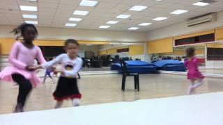 урок бальных танцев 1