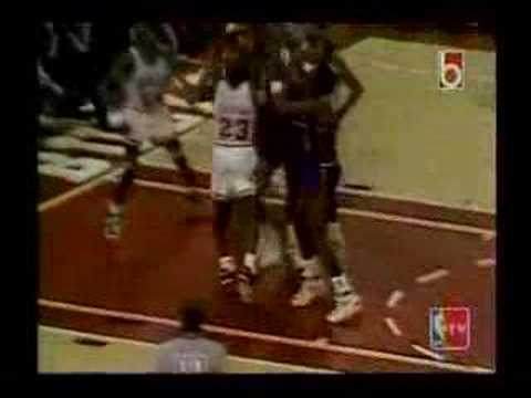 1990 Eastern Conference Finals: Pistons and Bulls