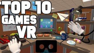 TOP 10 APLICATIVOS E JOGOS DE REALIDADE VIRTUAL - VR PLAY -