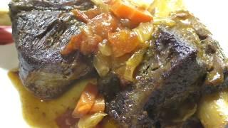 Вкусные РЁБРЫШКИ с овощами в мультиварке/Как приготовить говяжьи рёбра/Рецепт рёбрышек