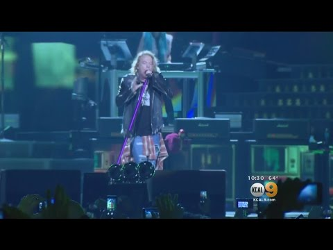 Guns N' Roses Kicks Off Two Nights At Dodger Stadium