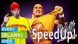 SMOSH: EVERY WRESTLER EVER (SpeedUp!)