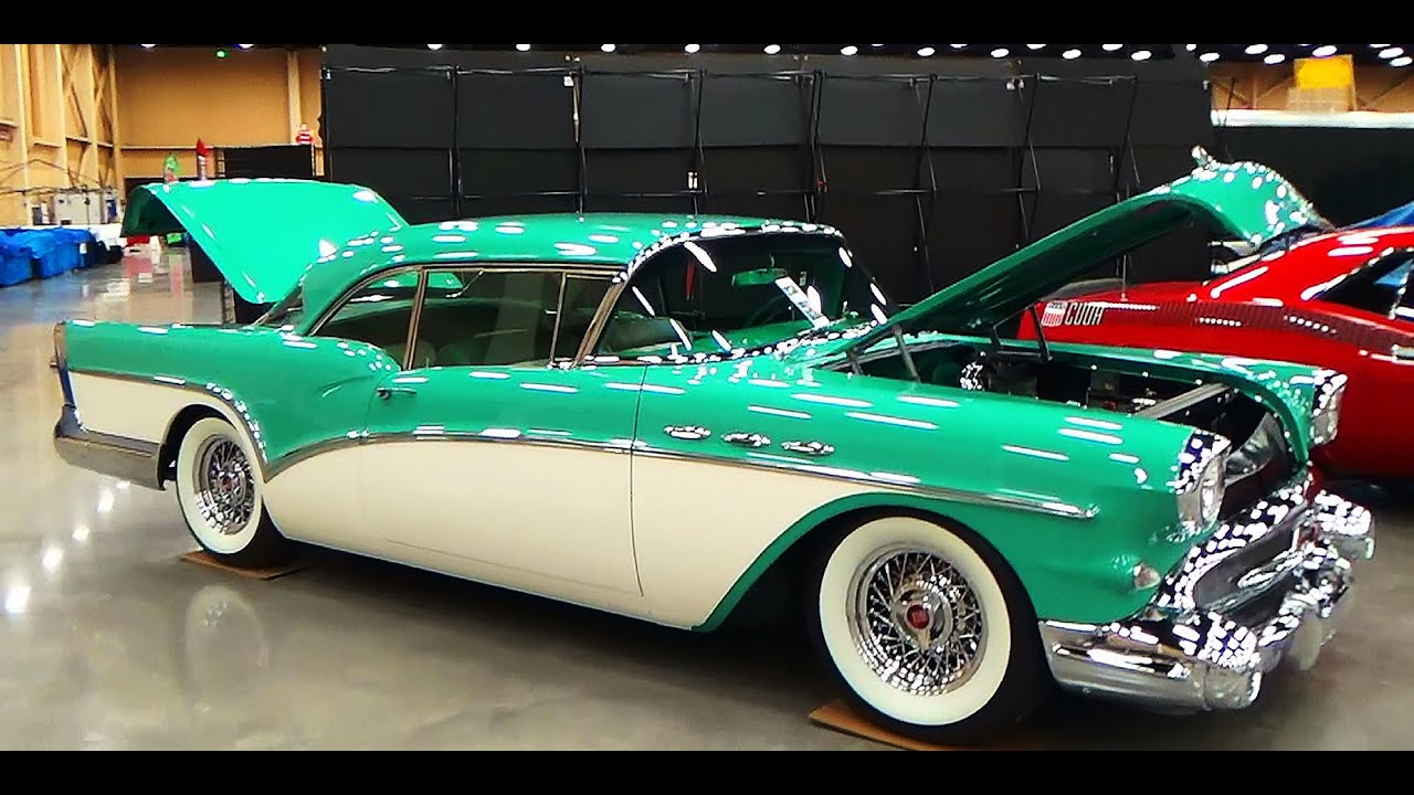 1957 Buick Special Pigeon Forge Rod Run 2014 - YouTube