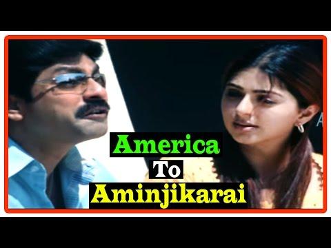 America To Aminjikarai Tamil Movie | Scenes | Bhumika Happy That The Girl Rejected Jagapati Babu