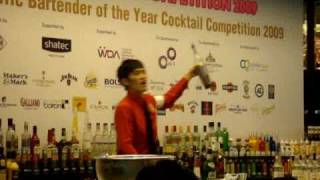 Gambar cover 19th Asia Pacific Cocktail Competition. champion--(Taiwan Flair)