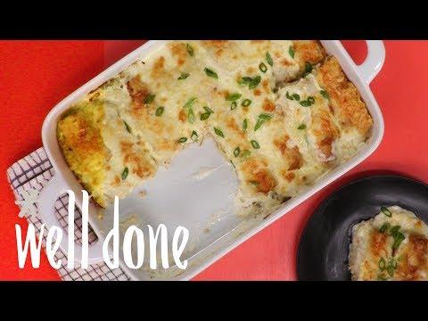how-to-make-creamy-chicken-enchiladas-|-recipe-|-well-done