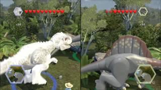 LEGO Jurassic World - Indominus Rex Gameplay (BIG Dinosaurs)