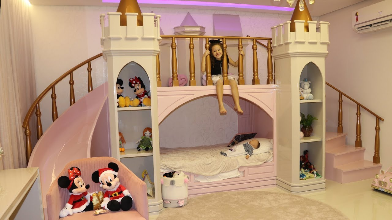 Tripple Bunk Bed With Slide