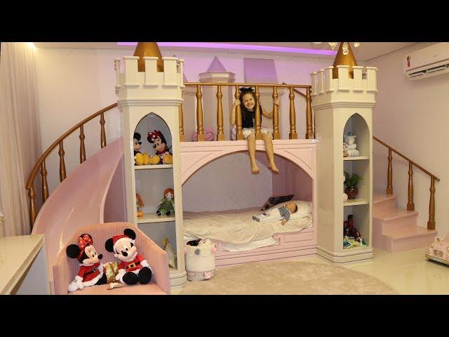 Tour pelo meu quarto - Castelo de Princesa da Valentina Pontes