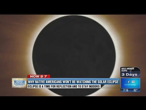 Why Native Americans will not be watching the solar eclipse