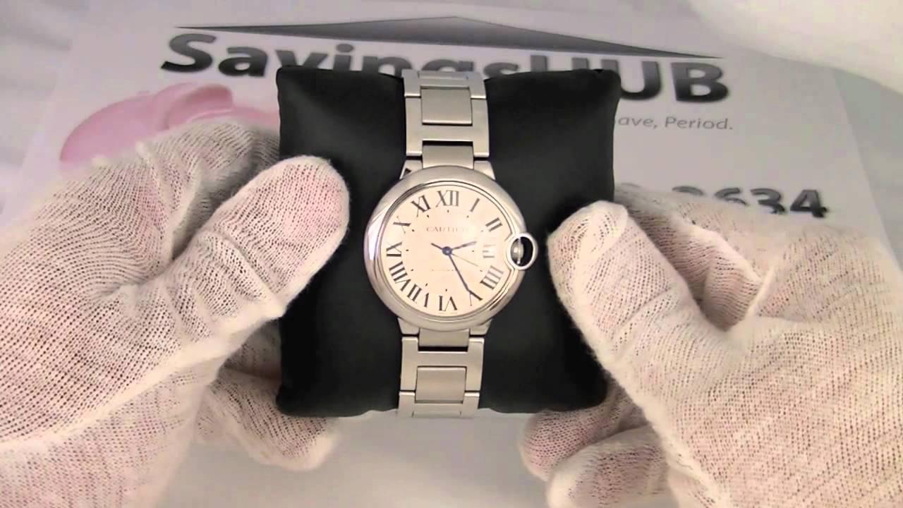 Cartier Ballon Bleu Unisex Watch