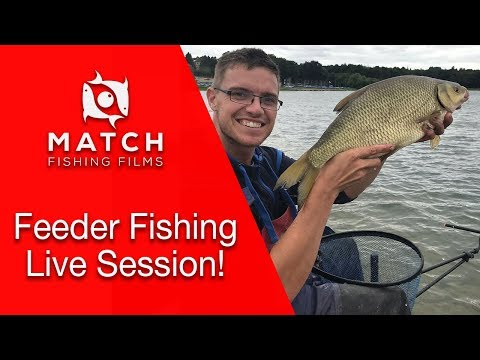 Feeder Fishing For Bream, Skimmers And Hybrids- Live Practice Session With Joe Carass
