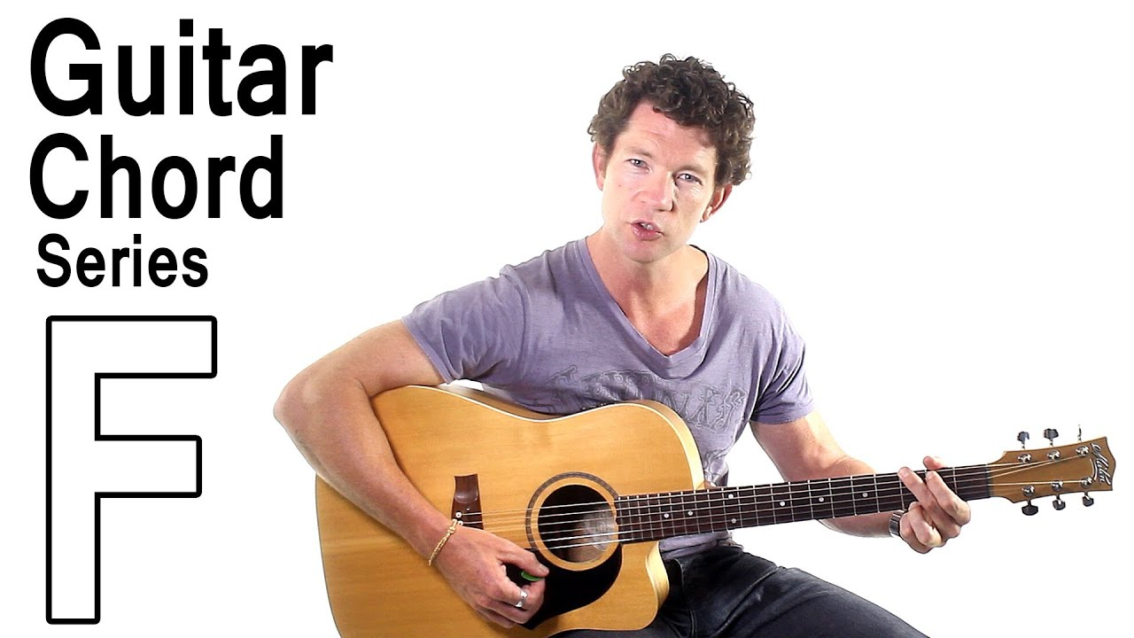 Beginner Guitar Chords 12 - The F Major Barre Chord - YouTube