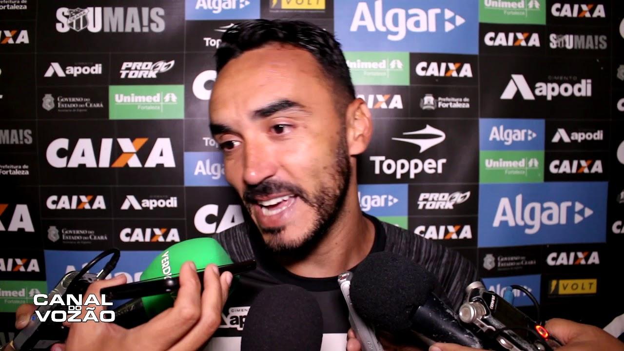 [Série A '18] Coletiva Tiago Alves | Pré-jogo Grêmio FBPA X Ceará SC | Canal do Vozão - YouTube