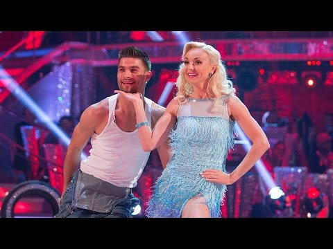 Helen George & Aljaz Skorjanec Cha Cha to 'Uptown Girl'  Strictly Come Dancing: 2015